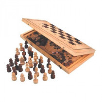 Шахматы, шашки 2в1