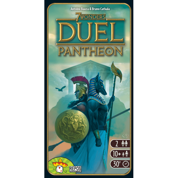 7 чудес. Дуэль. Пантеон (Wonder Duel expansion) (доп.)