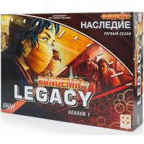 Пандемия. Наследие. Сезон 1 (красная коробка) (PANDEMIC LEGACY  Season 1 RED)