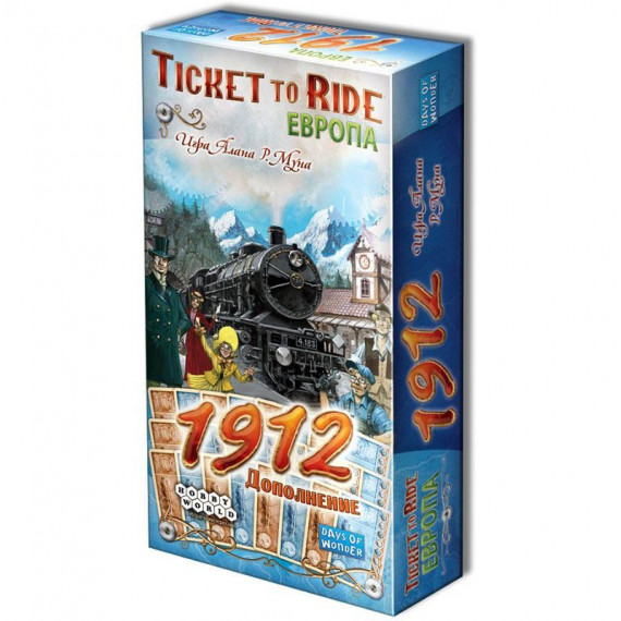 Ticket to Ride. Европа. 1912 (доп.)